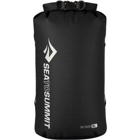 Sea to Summit Big River Sac de compression étanche 20l, black